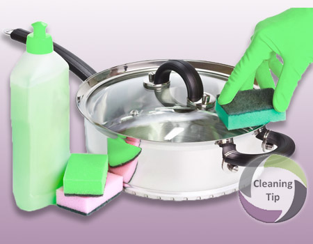 How to Clean Pots and Pans