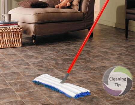 How to Clean Vinyl Floors. vinyl flooring