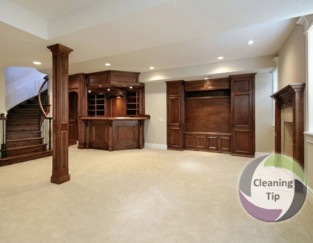 How to Clean a Basement