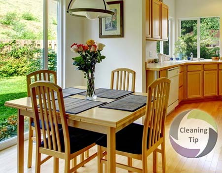 How to Clean a Dining Room