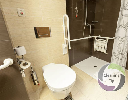 How to Clean a Bathroom for the Disabled - disabled bathroom
