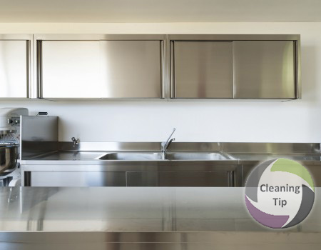 Superieur How To Clean A Stainless Steel Countertop