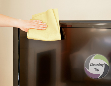 How to Clean a TV. House cleaning company Maids by Trade