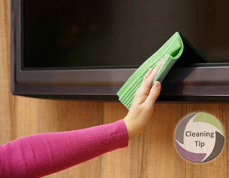 How to Clean a TV