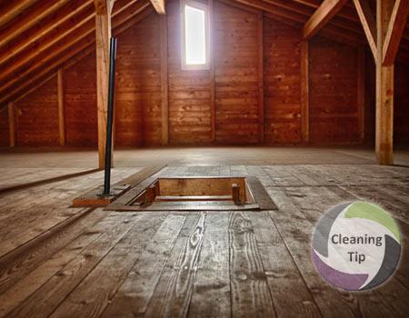 A clean attic makes a statement