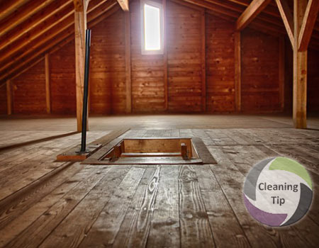 Get a clean attic & How to Clean an Attic | Maids By Trade