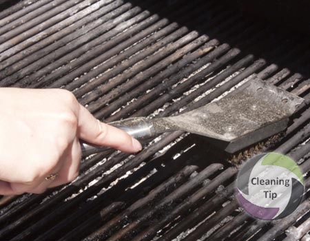 A house cleaning tip from Maids by Trade. How to Clean an Outdoor Grill.