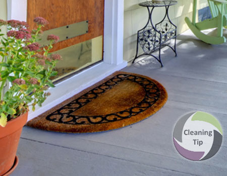 How to Clean Doormats