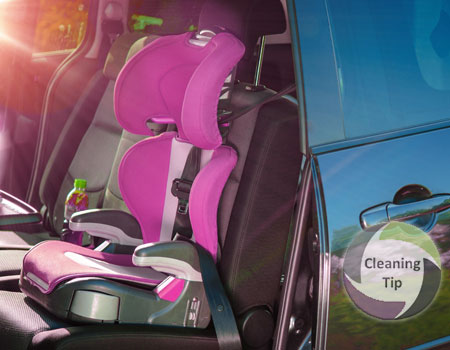 How to Clean a Child's Car Seat