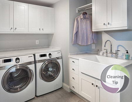 How to Clean a Laundry Room