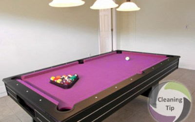 Quick Steps to Keep a Clean Pool Table