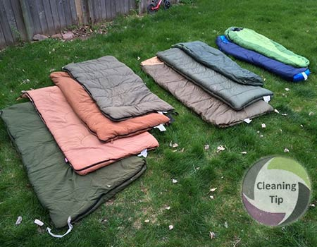 Learn How to Clean a Sleeping Bag