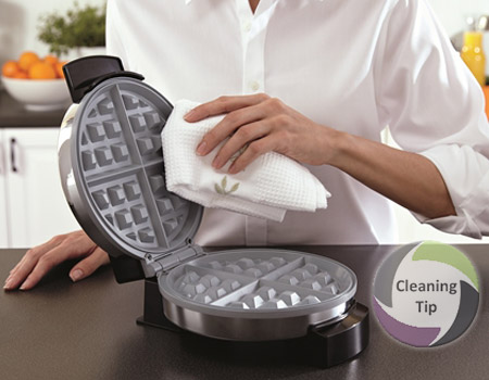 How to Clean a Waffle Iron