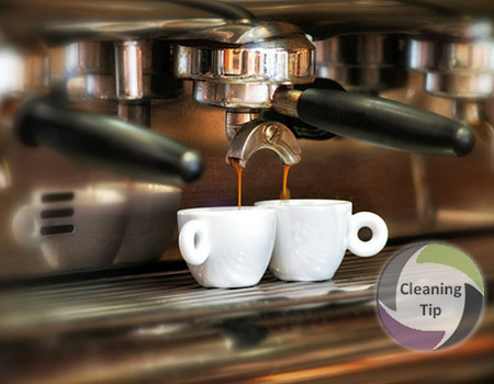 clean espresso machine