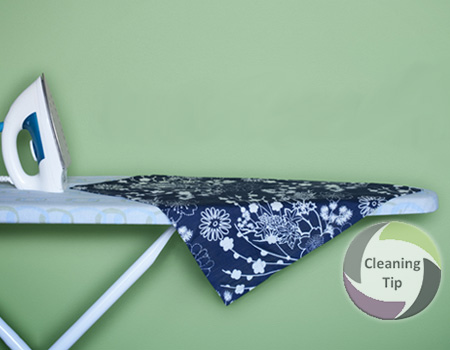 How to Clean an Ironing Board