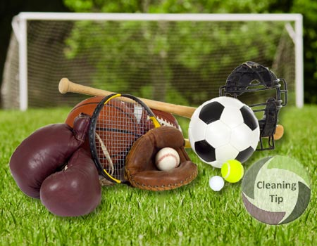 Learn How to Clean Sports Gear
