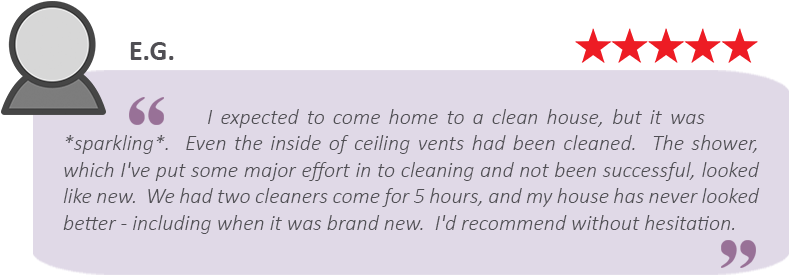 house-cleaning-review-by-E.-G%3B sparkling review of Maids by Trade