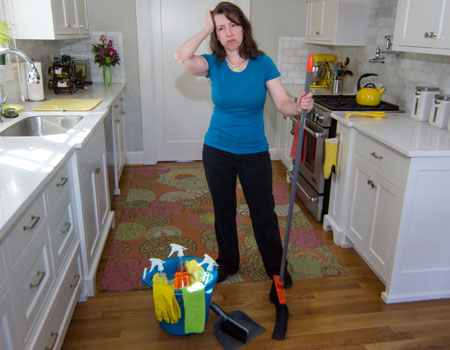 6 Sins of DIY House Cleaning