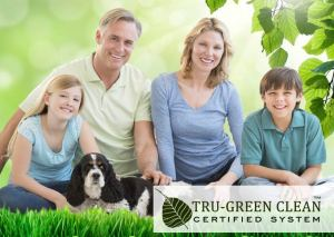 Tru Green Clean Certified System used by Maids by Trade