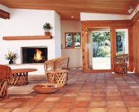 Saltillo Tile Living Room Ideas | www.myfamilyliving.com
