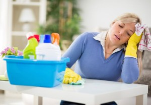 Image of Tucson house cleaners creating frustration to home owners.