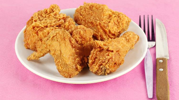 Platter of Fried Chicken Day YUM