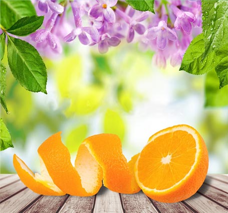 How to Clean Using Orange Peels