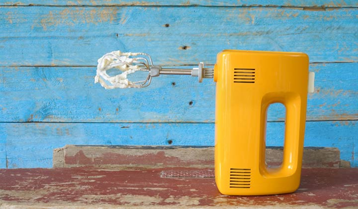 How to Clean Your Stand or Hand Held Electric Mixer after reassembling it