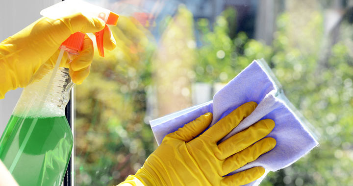 How to Clean Your Windows to a Sparkle from inside