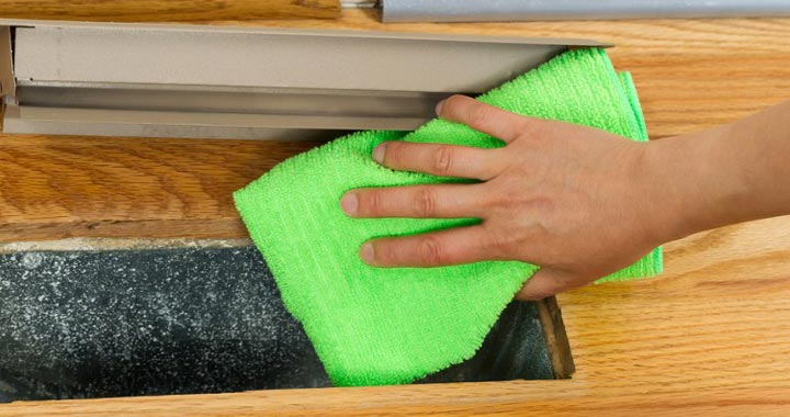 How to Cleanup After Construction and keep vents clean
