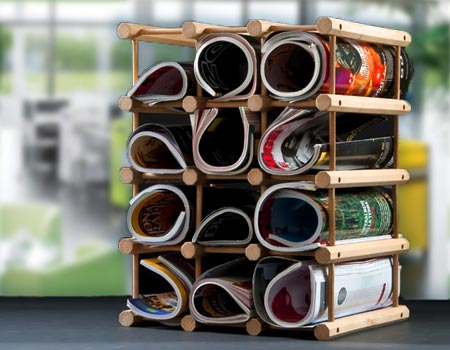 Magazine Holders: Not Just for Magazines