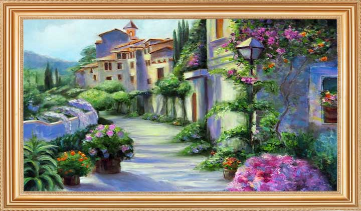 Taking Care of Your oil painting
