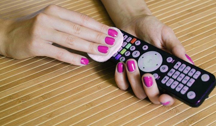 Clean & Sanitize control remote