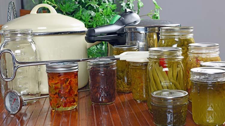 Sanitizing Your Canning Jars properly