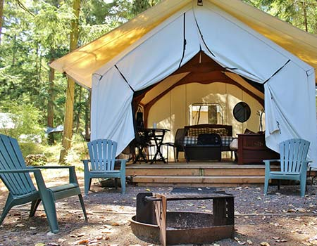 Glamping in the Great Outdoors