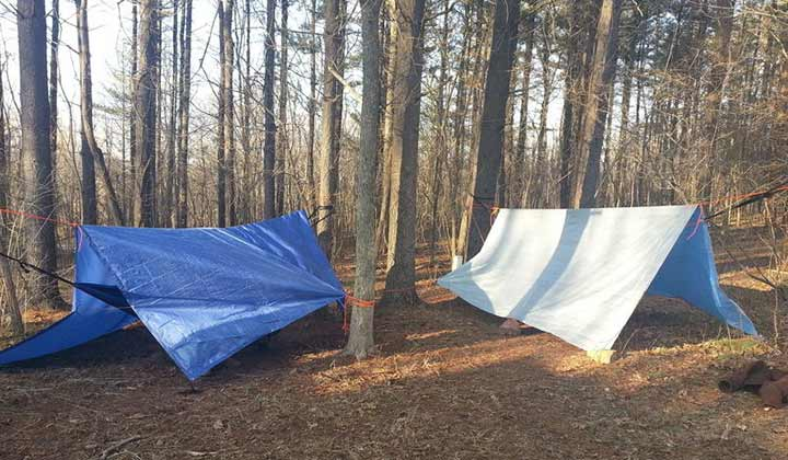Cleaning and Disinfecting Tarps and drying them
