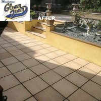 Patio paving slab cleaning | Gleam Team