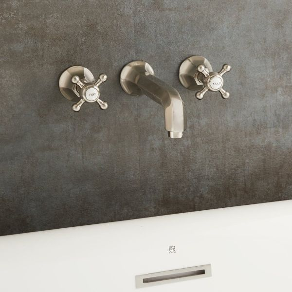 wall mout tub faucet roman style