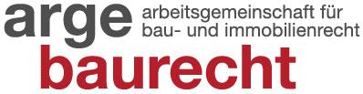 Logo arge baurecht und immobilienrecht