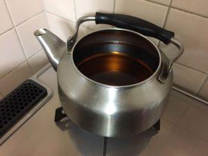 冬 麦茶 常温