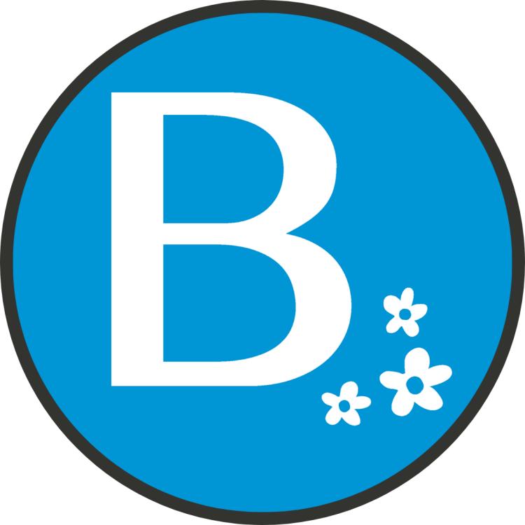 Logo for beauregard cafe store