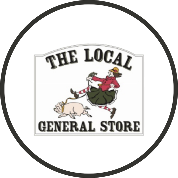 Logo for the local general store