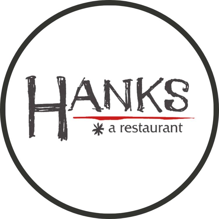 Logo for hanks a restaurant