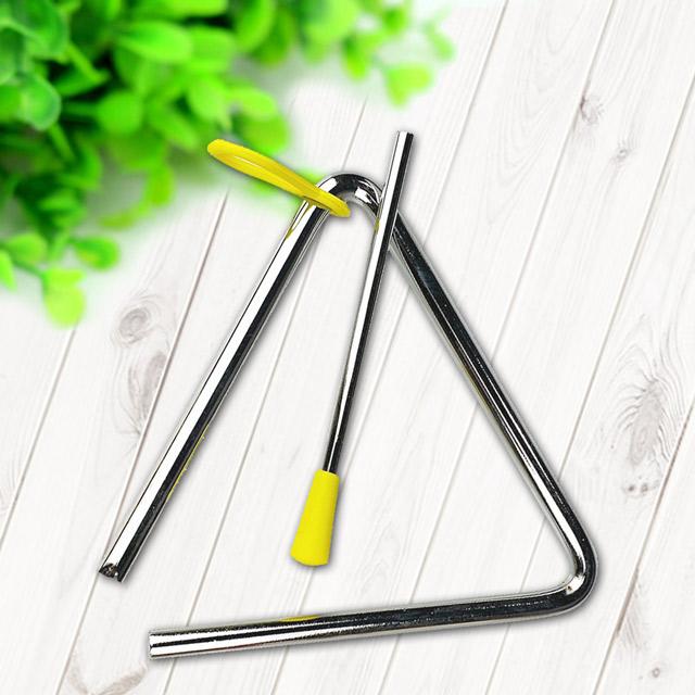 奧福打擊樂器/兒童樂器 三角鐵-5吋(1入) - 美佳樂器商城