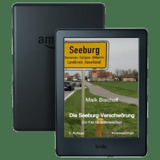 Cover im Kindle – Die Seeburg-Verschwörung