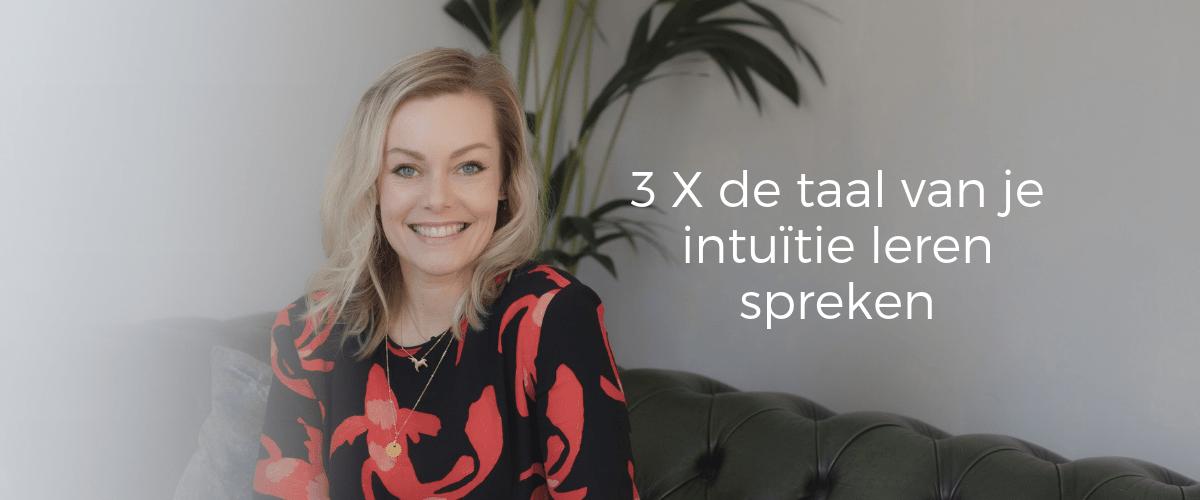 innerlijke wijsheid en de taal van je intuitie