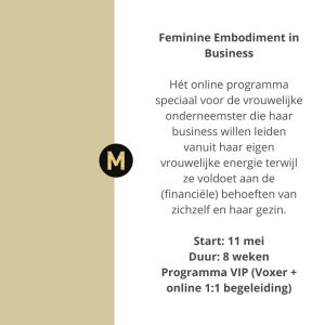 feminine embodiment in bedrijf Maike Maessen