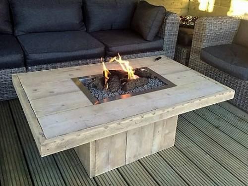 Industrile meubels steigerhout en eikenhout  industrieel