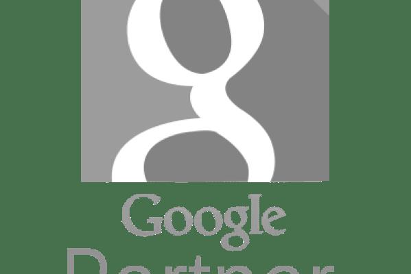 Logomarca em cinza do Google