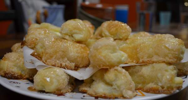 One of my very favorite deserts- quesitos